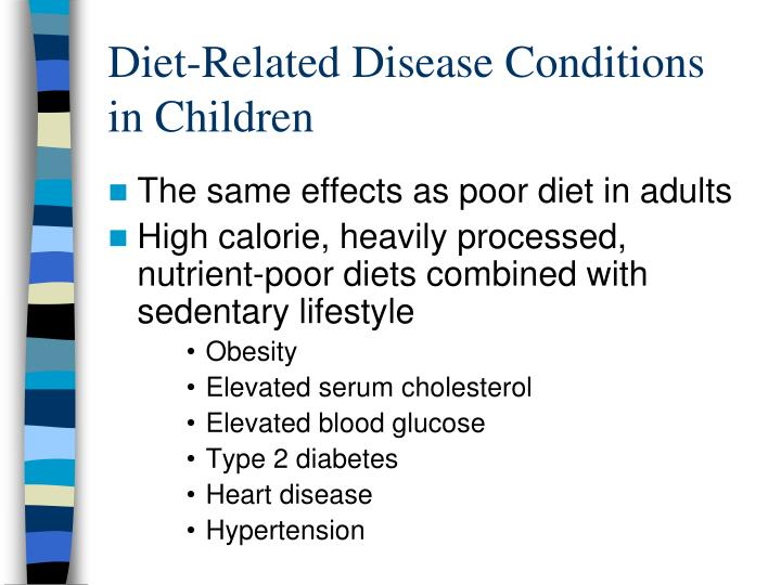 Diet-Related Disease Conditions