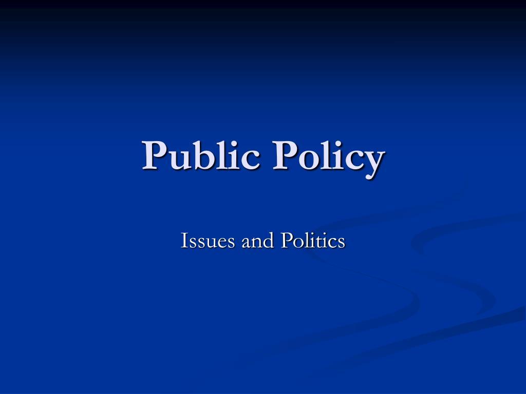 public policy l.