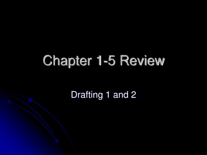 chapter 1 5 review n.