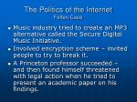 the politics of the internet felten case