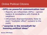 online political citizens