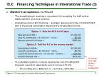 15 c financing techniques in international trade 3