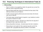15 c financing techniques in international trade 4