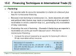 15 c financing techniques in international trade 5