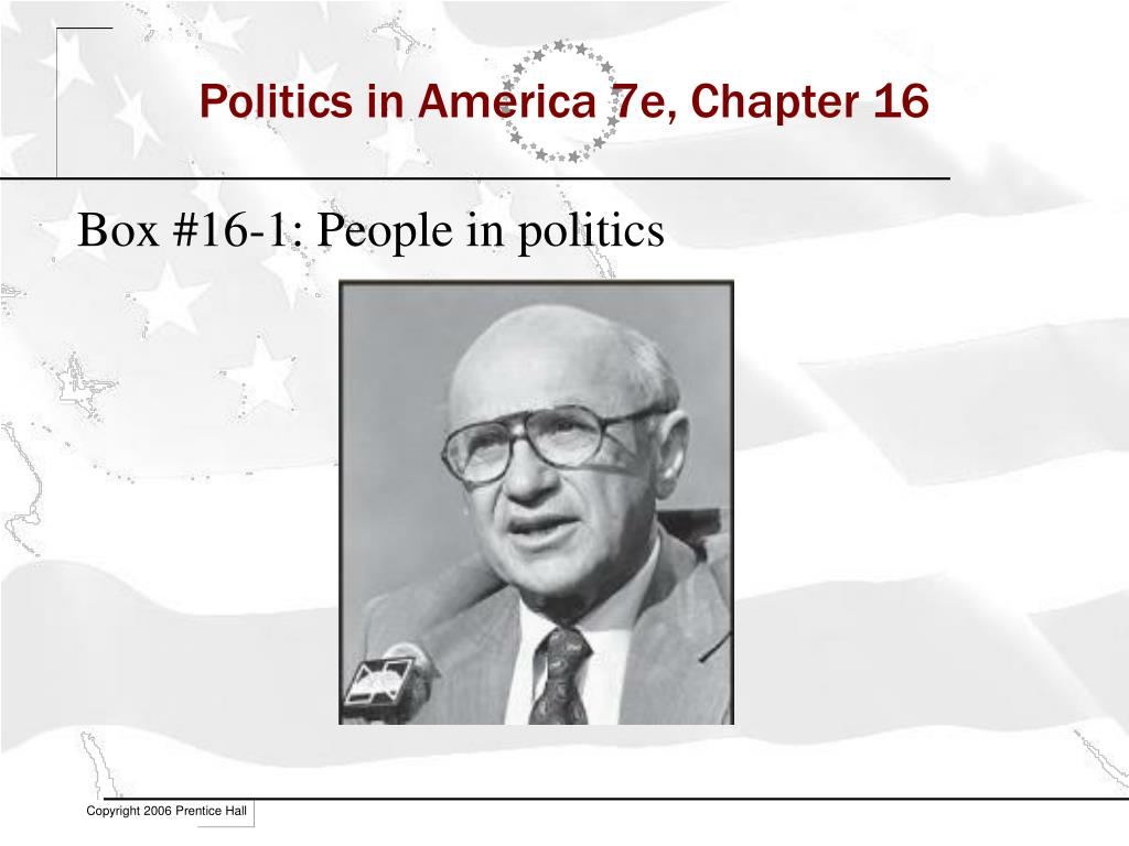 politics in america 7e chapter 16 l.