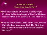 cerca de ti se or nearer my god to thee42