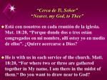cerca de ti se or nearer my god to thee49