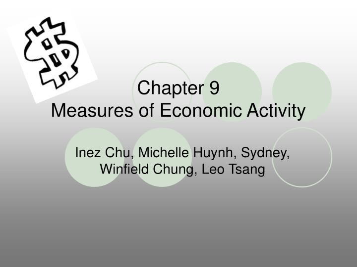 chapter 9 measures of economic activity n.