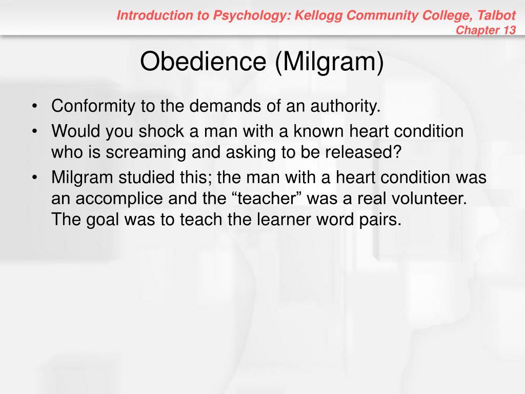 Obedience (Milgram)