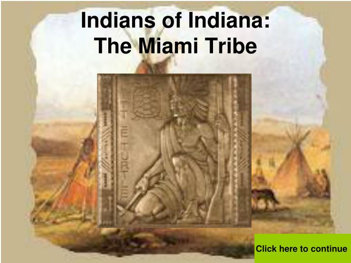 indians of indiana the miami tribe n.