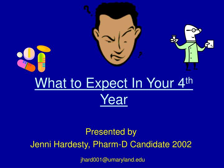 what to expect in your 4 th year n.