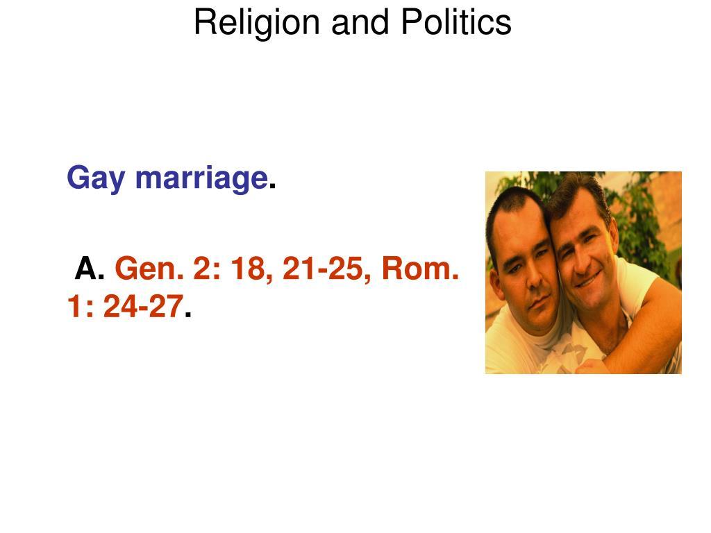 Religion and Politics