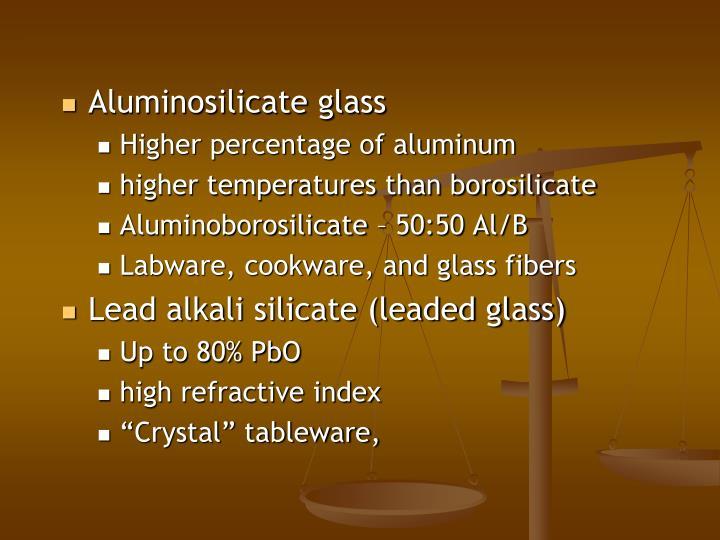 Aluminosilicate glass