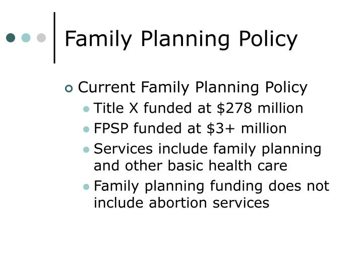 Family planning policy3