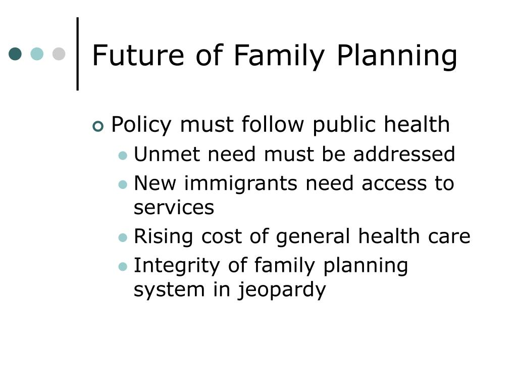 Future of Family Planning