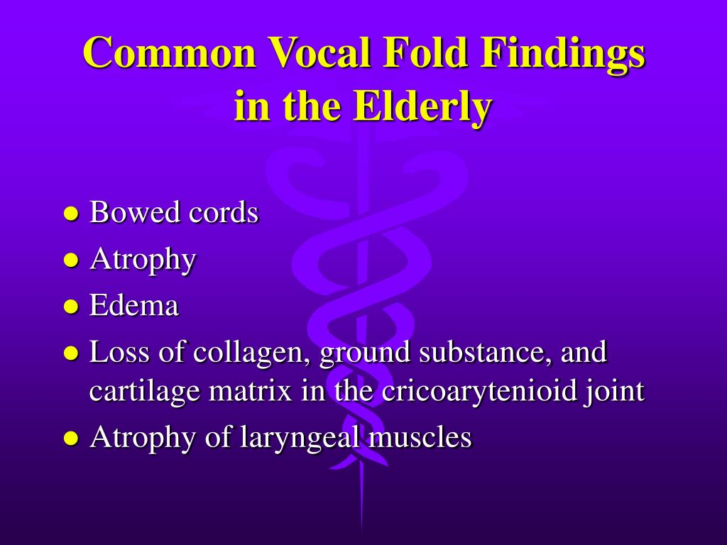 Common Vocal Fold Findings
