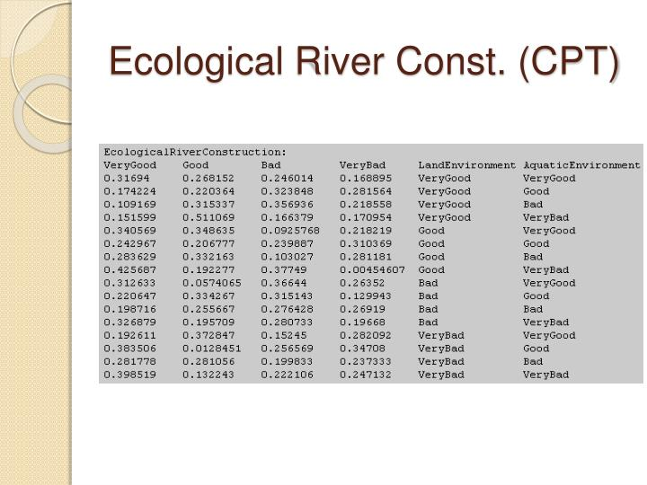 Ecological River Const. (CPT)