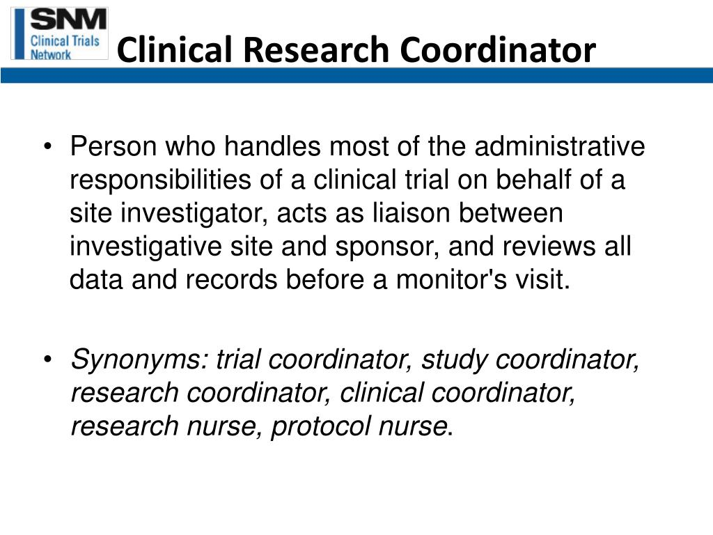 Clinical Research Coordinator