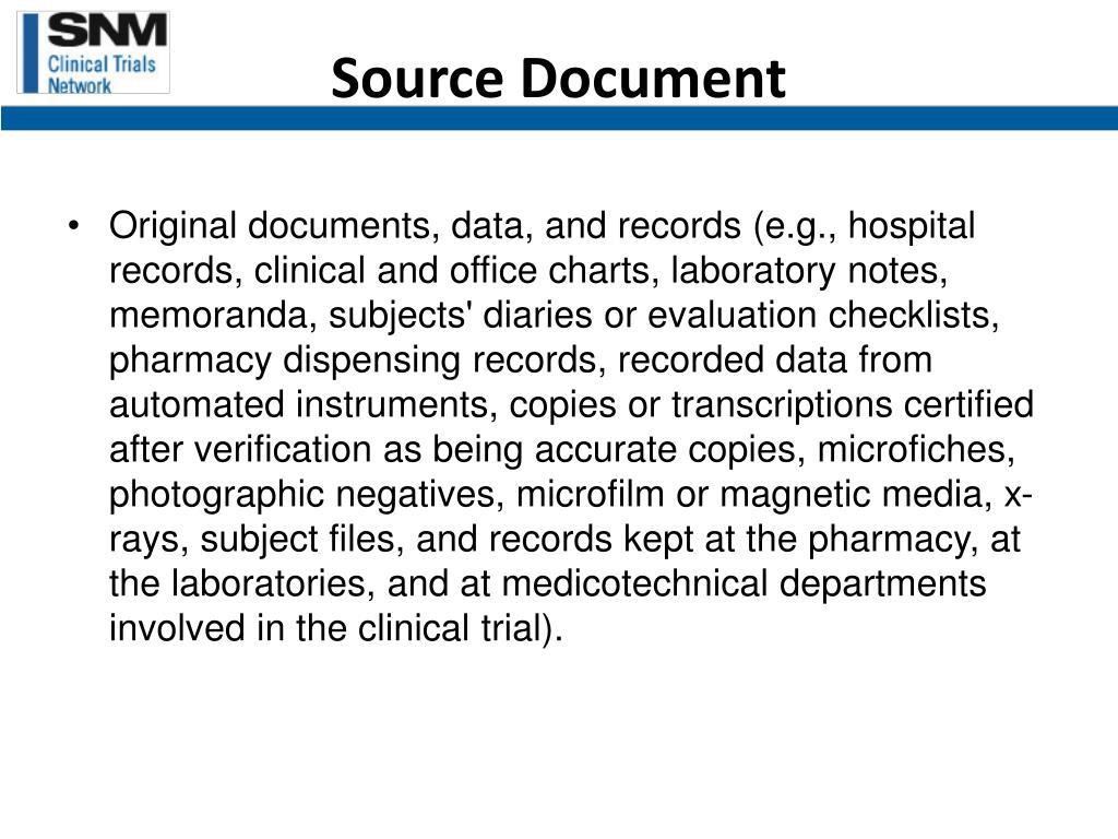 Source Document