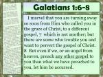 galatians 1 6 8