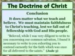the doctrine of christ14