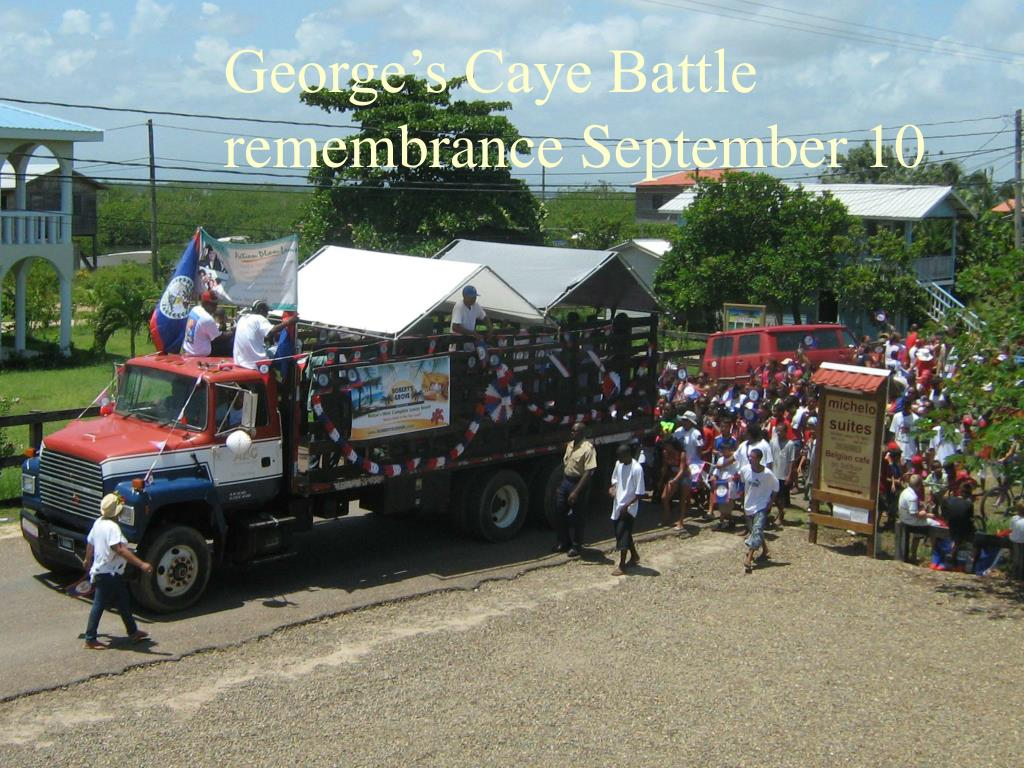 George's Caye Battle remembrance September 10