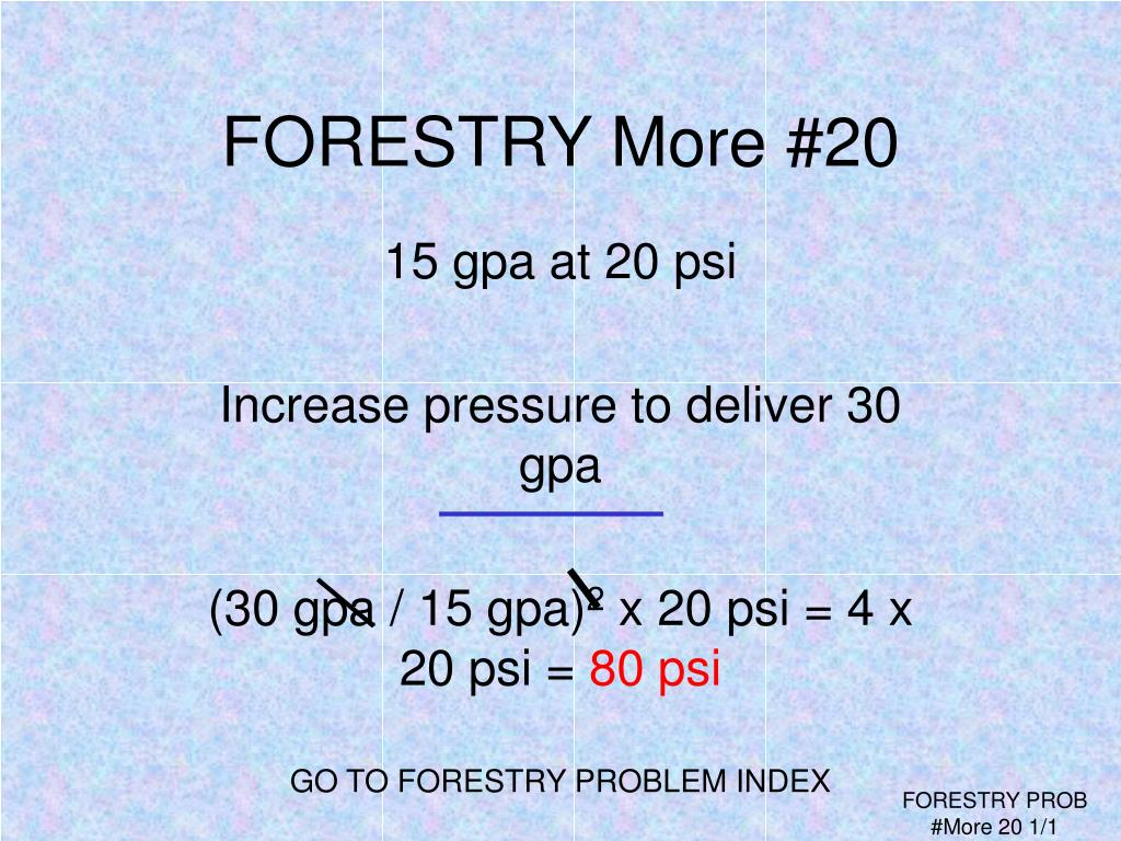 FORESTRY More #20