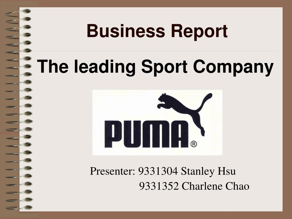 business report l.