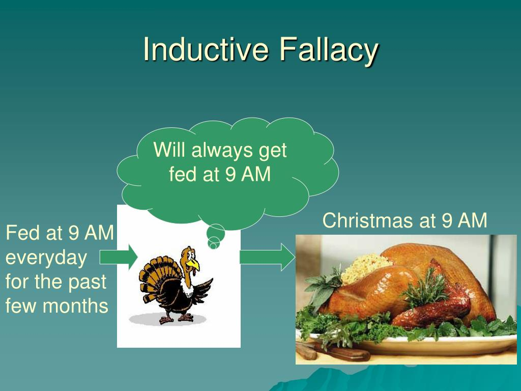 Inductive Fallacy