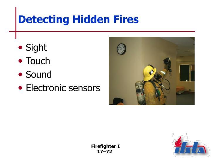 Detecting Hidden Fires