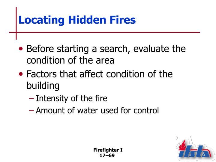 Locating Hidden Fires