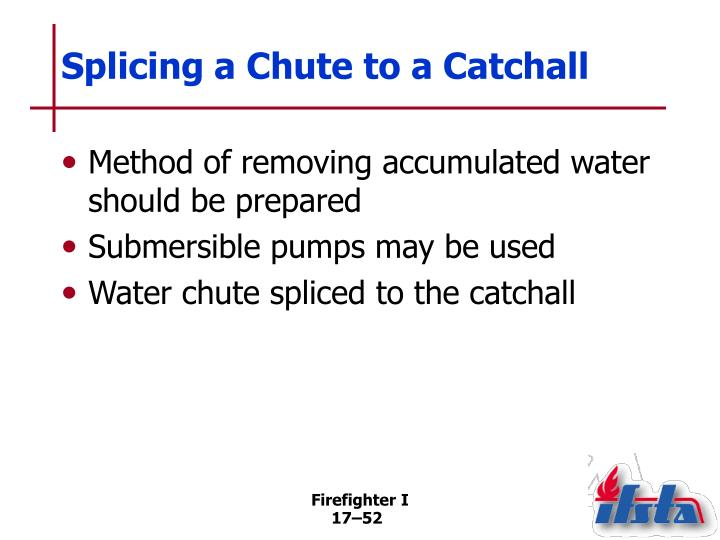 Splicing a Chute to a Catchall