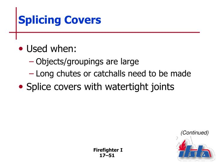 Splicing Covers