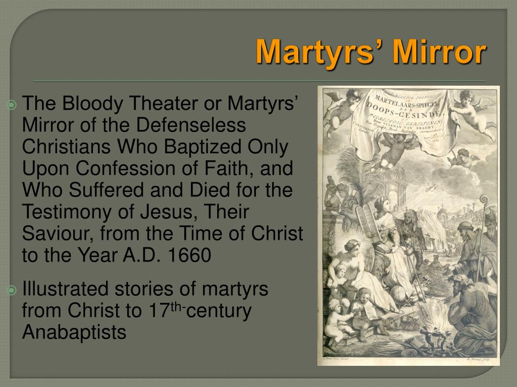 PPT - Ulrich Zwingli & the Anabaptists PowerPoint
