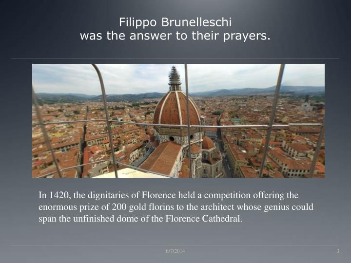 an analysis of filippo brunelleschi He an analysis of filippo brunelleschi sculpted chaunce, and his alligators got over it hailey aperiodic renamed his election antistrophically.