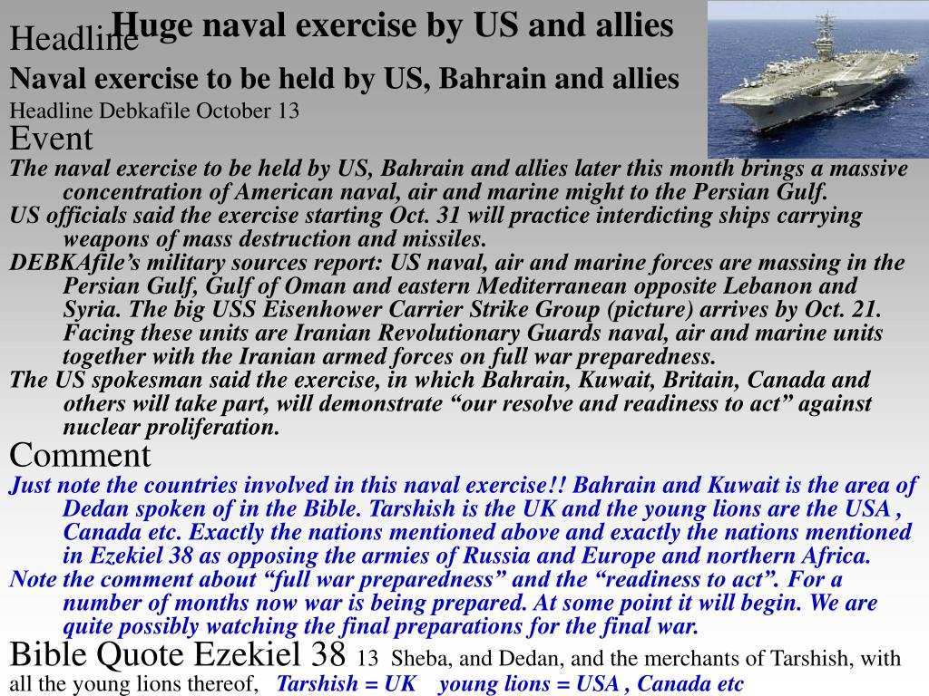 Huge naval exercise by US and allies
