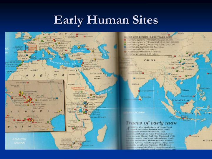 Early Human Sites