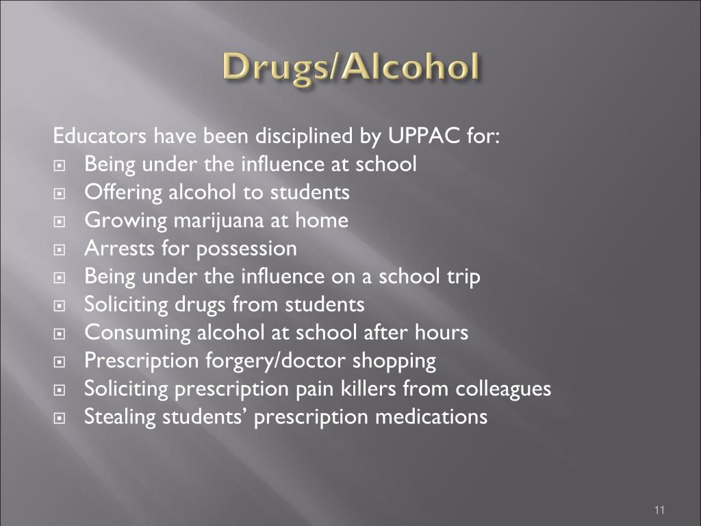 Drugs/Alcohol