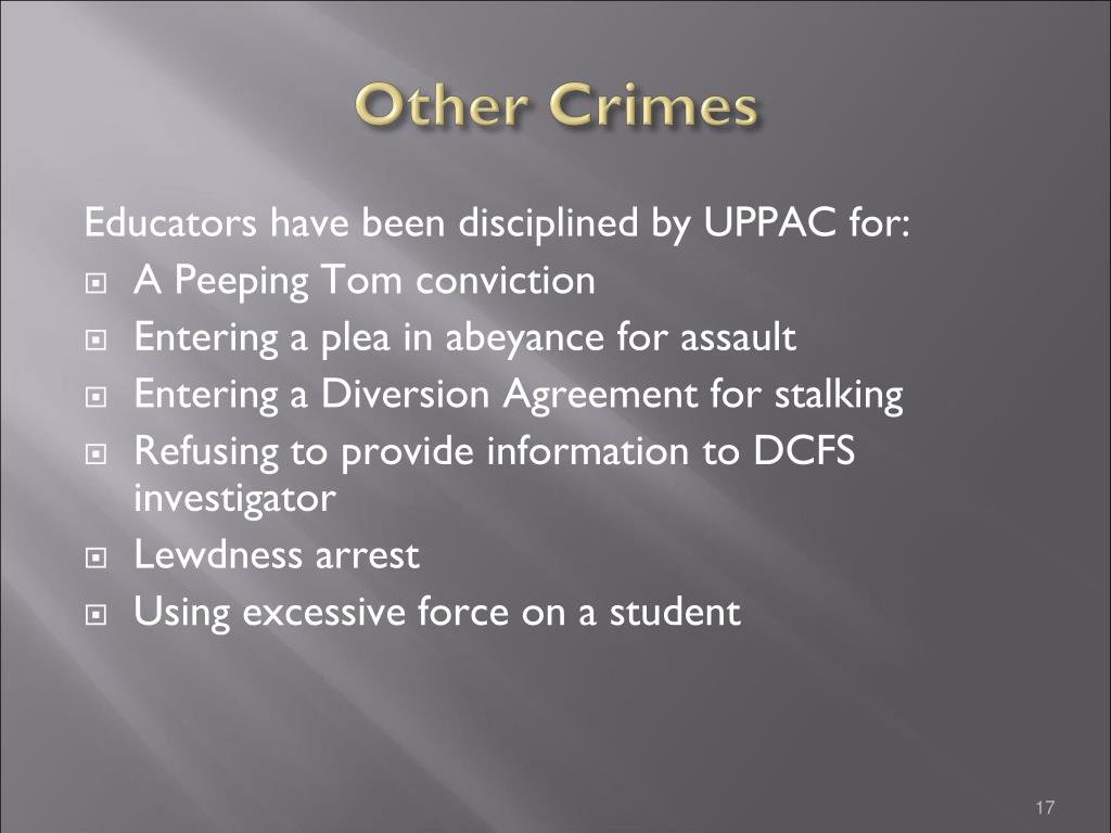 Other Crimes