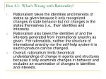 box 4 1 what s wrong with rationality