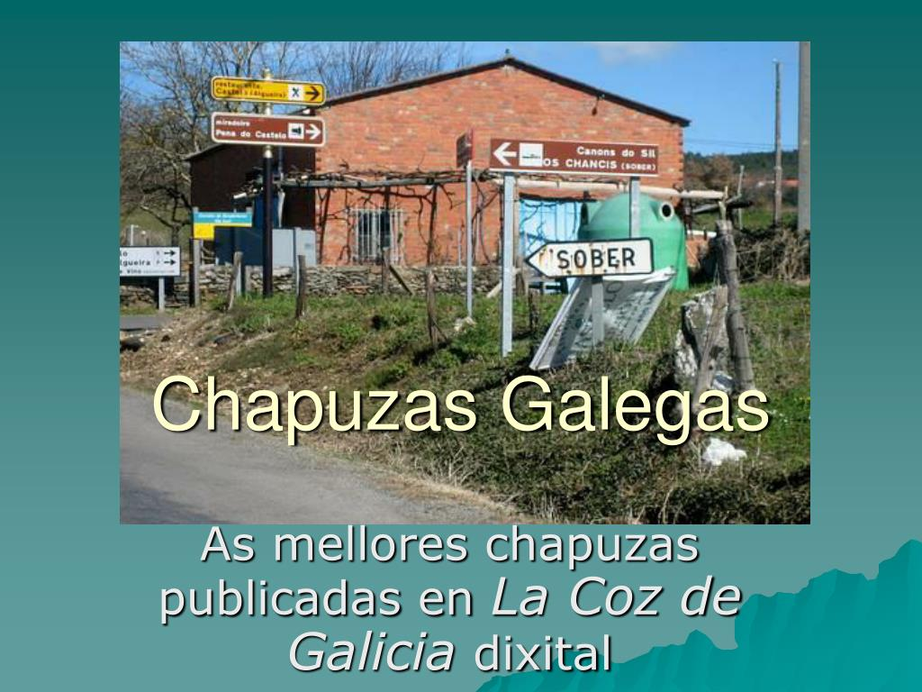 chapuzas galegas l.