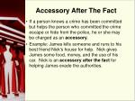 accessory after the fact