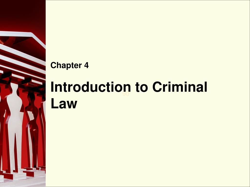 introduction to criminal law l.