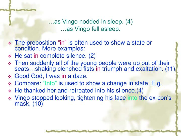 …as Vingo nodded in sleep. (4)