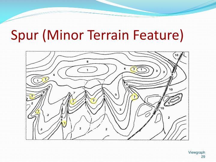 Spur (Minor Terrain Feature)