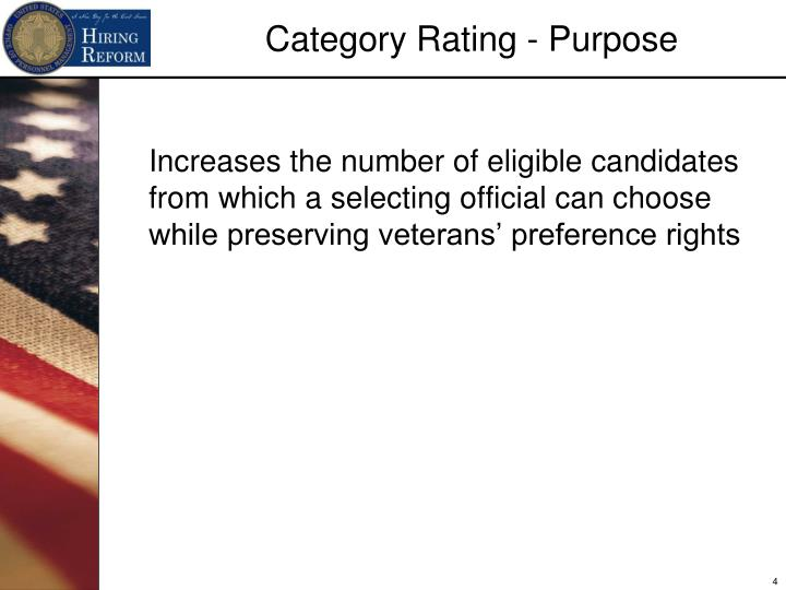 Increases the number of eligible candidates from which a selecting official can choose while preserving veterans' preference rights