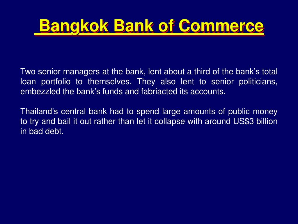 Bangkok Bank of Commerce