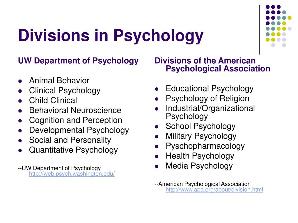 UW Department of Psychology