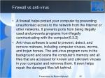 firewall vs anti virus