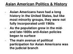 asian american politics history